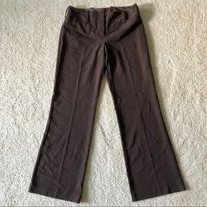 Iz Byer California Chocolate Brown Trousers 5 Jrs